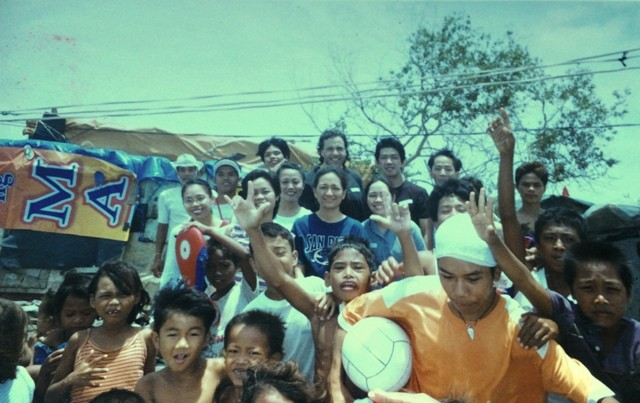 Kids in Payatas and Baseco, Philippines.