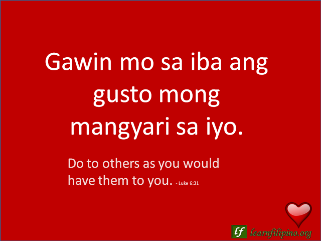 filipino love quotes learn filipino