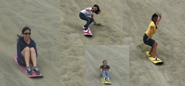 Try Sand Boarding and Ride the Dunes!
