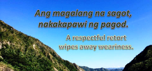 Share your Favorite Filipino Quote
