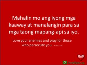 filipino love quotes learn filipino