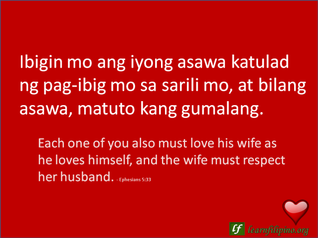Husband Wife Quotes In English: Filipino Love Quotes