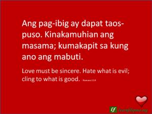 Filipino Love Quotes - Learn Filipino