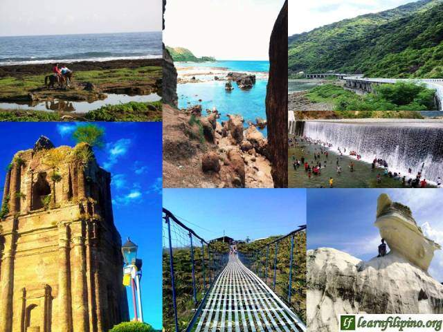 Ilocos Norte's Popular Places: Bangui Beaches, Patapat Bridge, Madongan Dam, Laoag City's Bell Tower, Dragon Fruit Farm