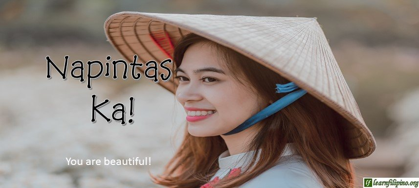 Ilocano Translation - You are beautiful! - Napintas ka!