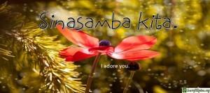 Tagalog Translation - I adore you. - Sinasamba kita.