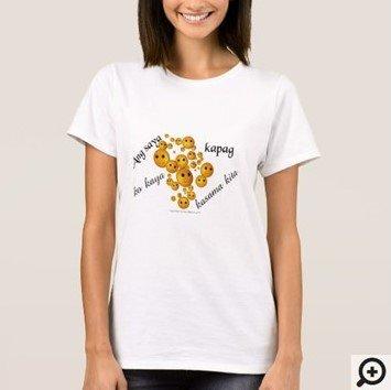 Ang saya ko kaya kapag kasama kita Filipino Hugot line t-shirt