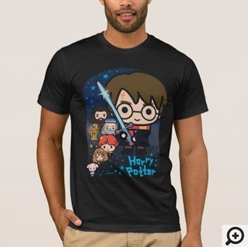 Cartoon Harry Potter Chamber of Secrets T-shirt Customize it with Filipino Hugot Lines