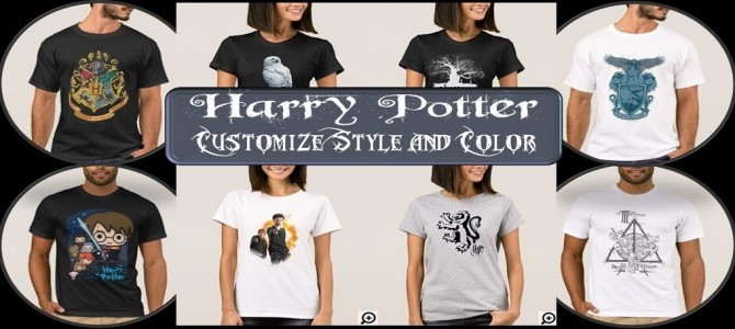 Harry Potter – Customize it with the Color and Style you Want