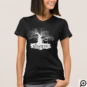 Harry Potter Spell Silhoutte T-shirt Customize it with Filipino Hugot Lines