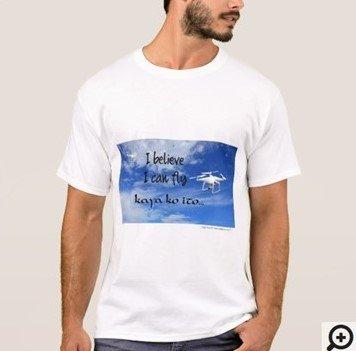I believe I can fly Humorous Filipino Hugot Line T-shirt
