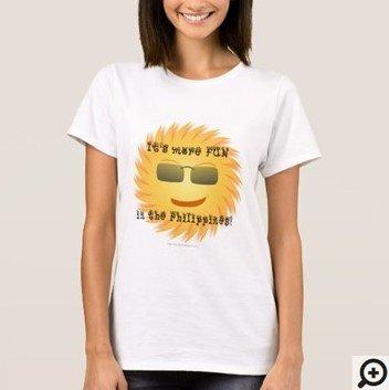 It's more fun in the Philippines Filipino Hugot T-shirt