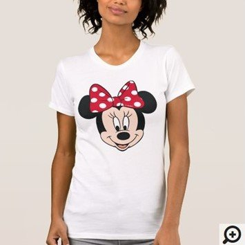 Minnie Mouse Head Logo T-shirt Customize it with Filipino Hugot Lines
