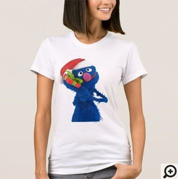 Santa Hat Grover T-shirt Customize it with Filipino Hugot Lines