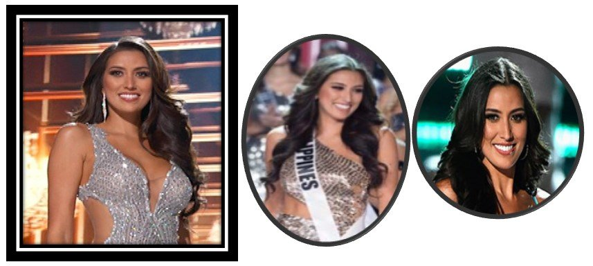 Ms. Philippines made it to the top 10. - Ms. Universe