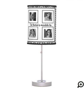 """Sa tuwina'y naaalala ka... """"black and white waves"""" table lamp"""
