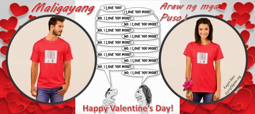 What is valentine's day for may Filipinos?