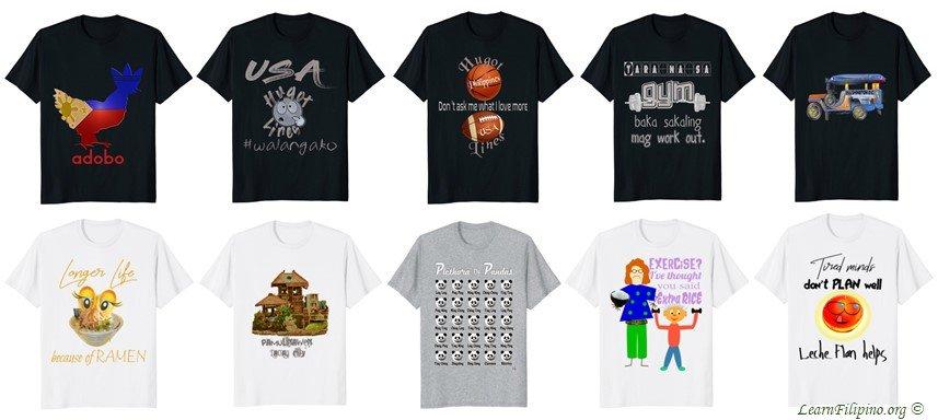 KDB Asian and Tropical - Filipino, Asian, Novelty Culture and Language Shirt Products