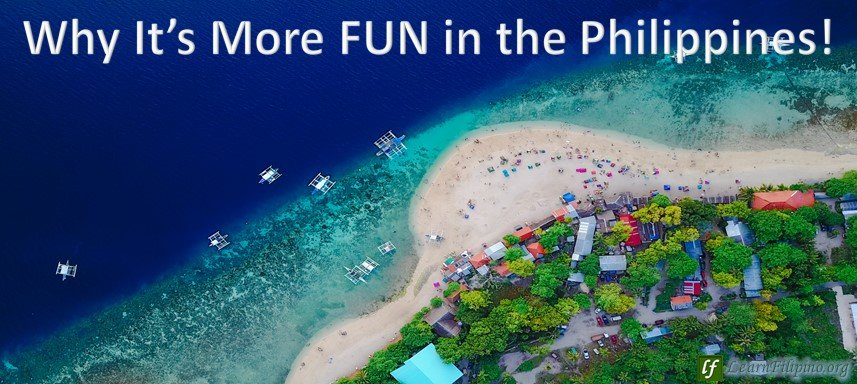 Aerial view of the beach, Philippines