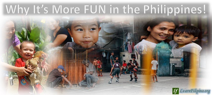 People smiling in the midst of Poverty, Philippines