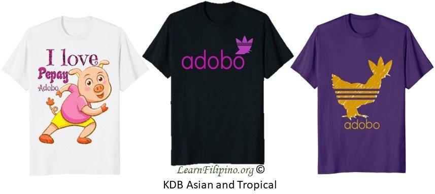 Philippine or Filipino Adobo Shirt for Girls and Women