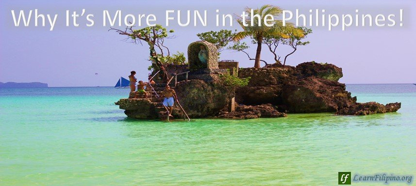 Small Island in the Philippines