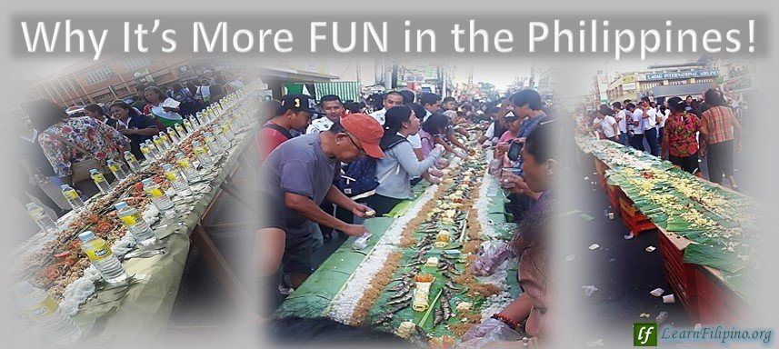 The Longest Boodle Fight, Laoag City, Philippines