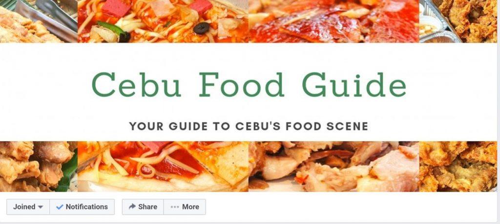 Cebu FoodGuide Facebook Community
