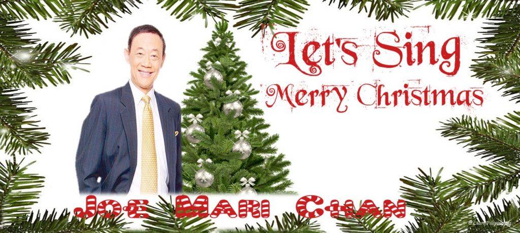 Joe Mari Chan's Christmas Songs are forever popular for Filipinos