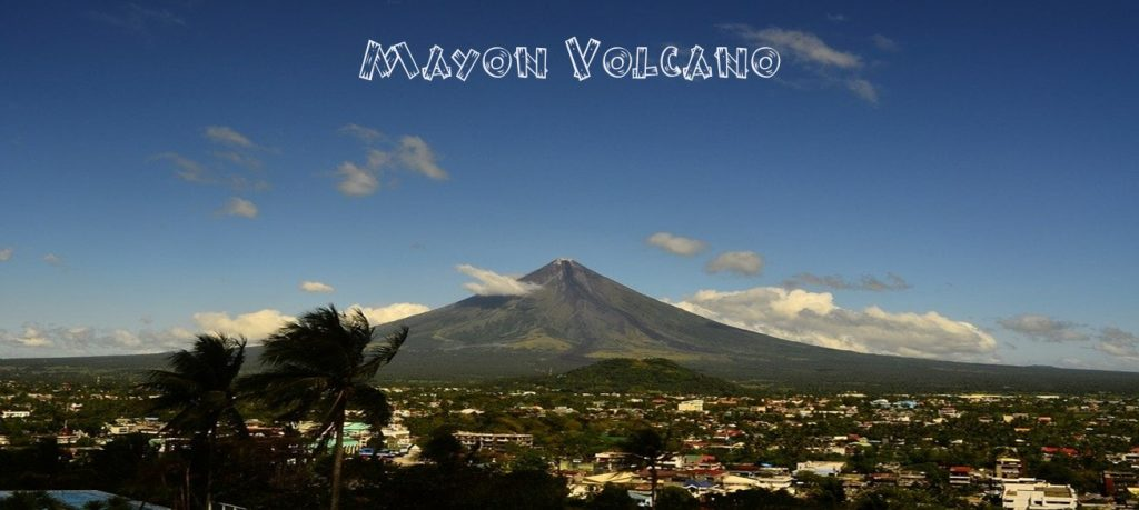 Mayon Volcano is active and located in Albay